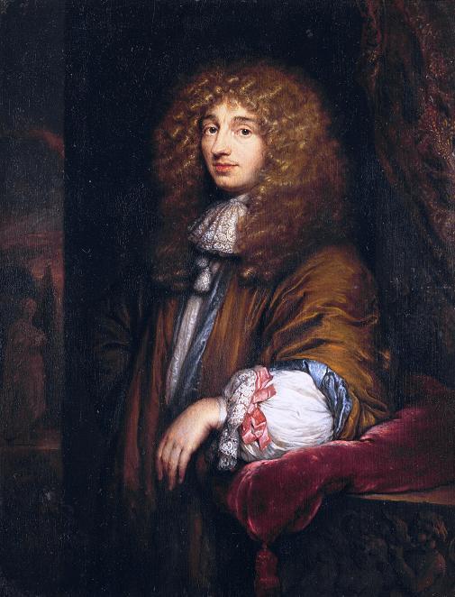 Christiaan Huygens por Caspar Netscher (1671). Foto: Wikipedia