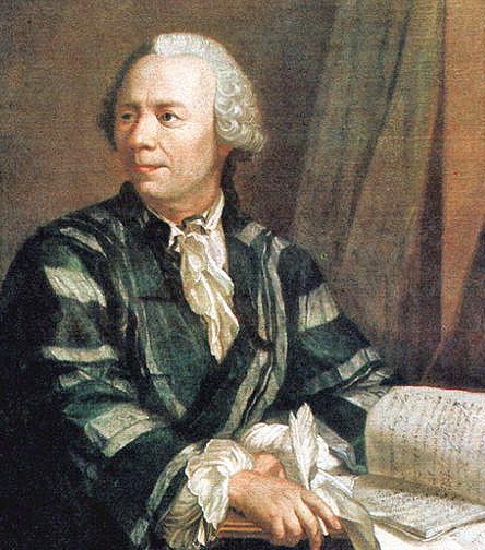 Leonhard Euler por Jakob Emanuel Handmann (hacia 1756)1 Deutsches Museum, Múnich. Foto: Wikipedia