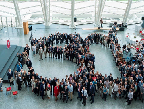 Laureados Jaume I durante los úlitmos 30 años. Foto: Fundación Jaume I.