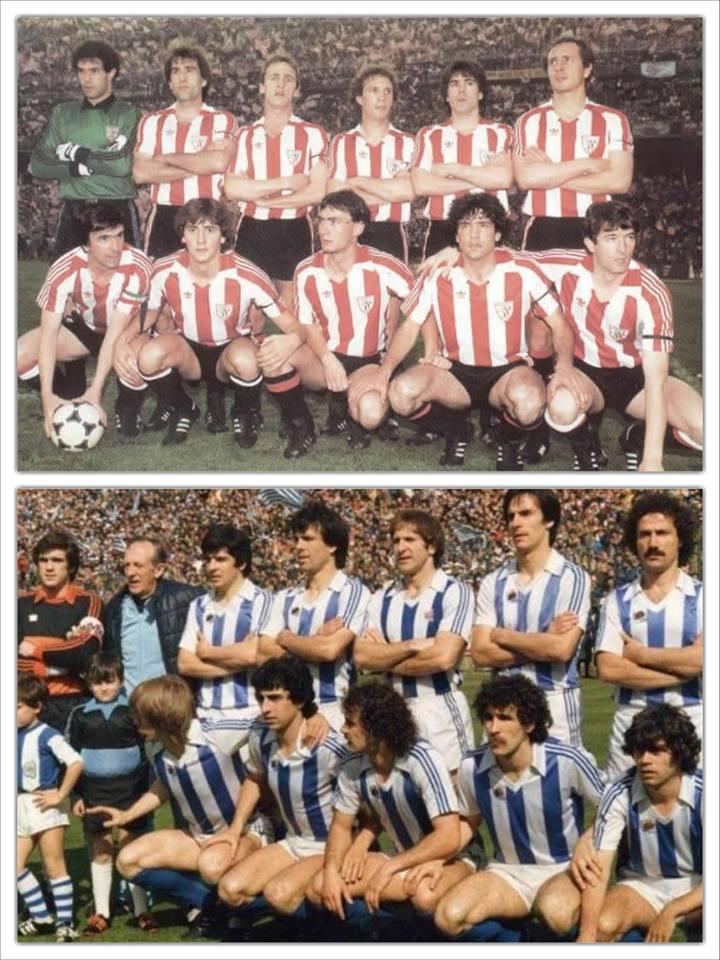 El Atletic del 84 y la Real Sociedad de la temporada 80-81